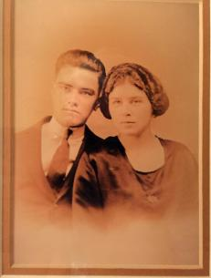 Pappy and Grandma Wedding Picture